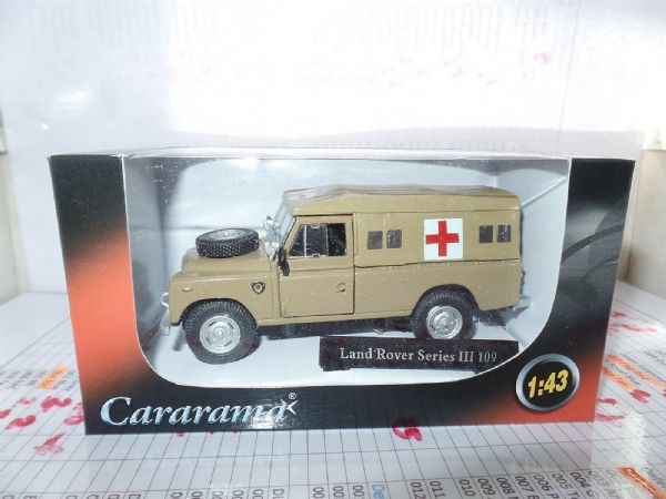 Cararama CR037 1/43 O Scale Land Rover III 109